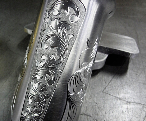Polished × Hand Engraving (JIRI)