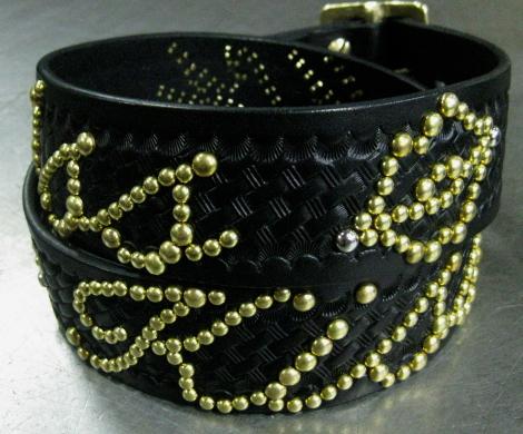 BK / basket weave × Brass