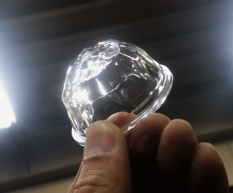"Diamond Cut ""Crystal"" Lens"